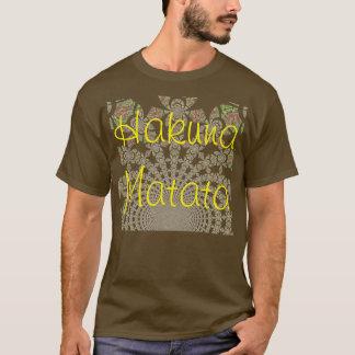 Create your own Basic Shirt Template Hakuna Matata