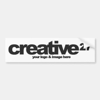 Create Your Own Bespoke product Bumper Sticker