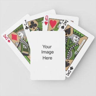 Create Your Own Bicycle Playing Cards Green