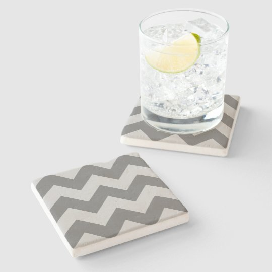 Create Your Own Big Charcoal Zigzag Pattern Stone