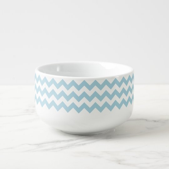 Create Your Own Big Light Blue Zigzag Pattern