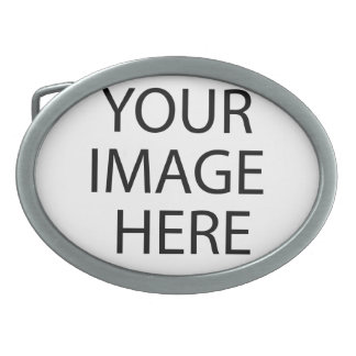 Create your own Birthday Oval Belt Buckle