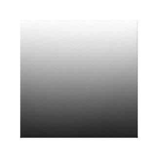 Create Your Own Black Ombre Canvas Print