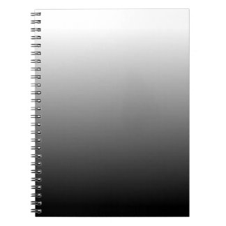 Create Your Own Black Ombre Notebooks
