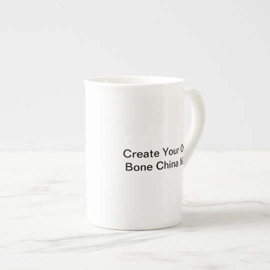 """Create Your Own"" Bone China Mug"