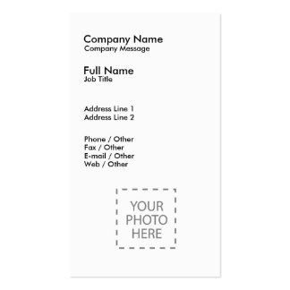 Create Your Own Business Card Template