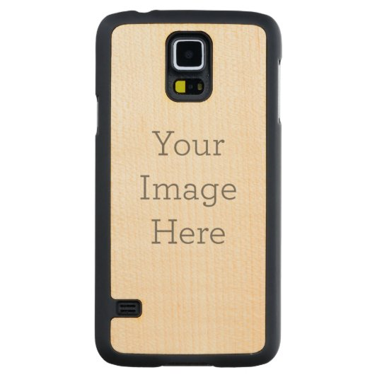 Samsung Galaxy S5 Slim Maple Wood Case