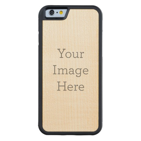 iPhone 6/6s Bumper Maple Wood Case