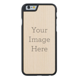 Create Your Own Carved Maple iPhone 6 Case