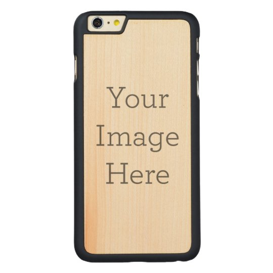 iPhone 6/6s Plus Slim Maple Wood Case