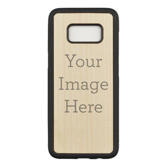 Samsung Galaxy S8 Slim Maple Wood Case