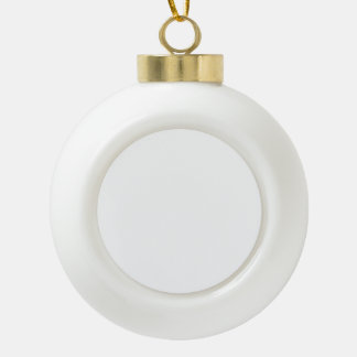 Create your own ceramic ball decoration