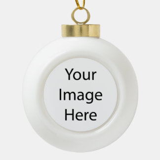 Create Your Own Ceramic Ball Ornament Bell