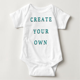 Create Your Own Child Design Baby Bodysuit