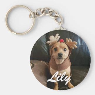 create your own Christmas keyring