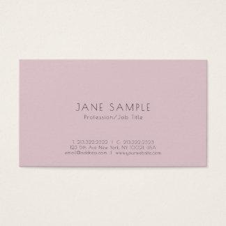 Create Your Own Clean Modern Elegant Design Business Card
