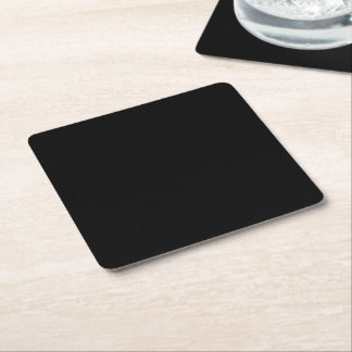 CREATE YOUR OWN COASTERS - Reusable Disposable Square Paper Coaster