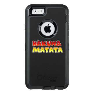 Create your own Colorful Hakuna Matata Electronics OtterBox iPhone 6/6s Case