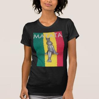 Create Your Own Colorful Hakuna Matata Rasta Color T-Shirt