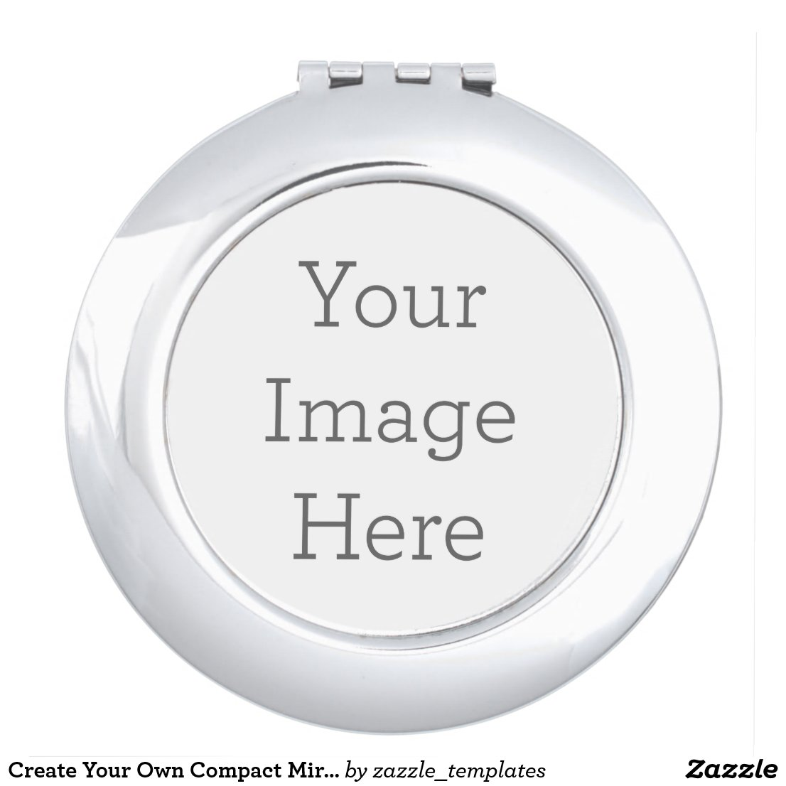 Create Your Own Round Compact Mirror