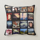 Create your Own Custom 16 Instagram Photo Collage Cushion