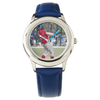Create Your Own Custom Blue Numbered Bezel Wrist Watches