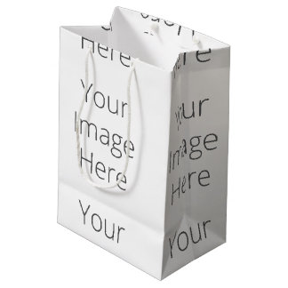 Create Your Own Custom Gift Bag - Medium, Matte