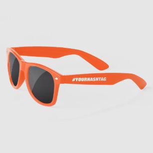 Create your own custom #hashtag colored sunglasses