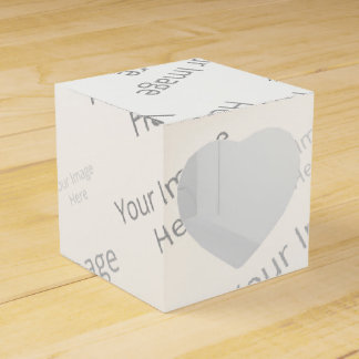 Create Your Own Custom Heart 2x2 Favor Box