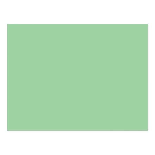 Create Your Own Custom Irish Sea Green Postcard