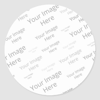 Create Your Own Custom Large Round Matte Sticker