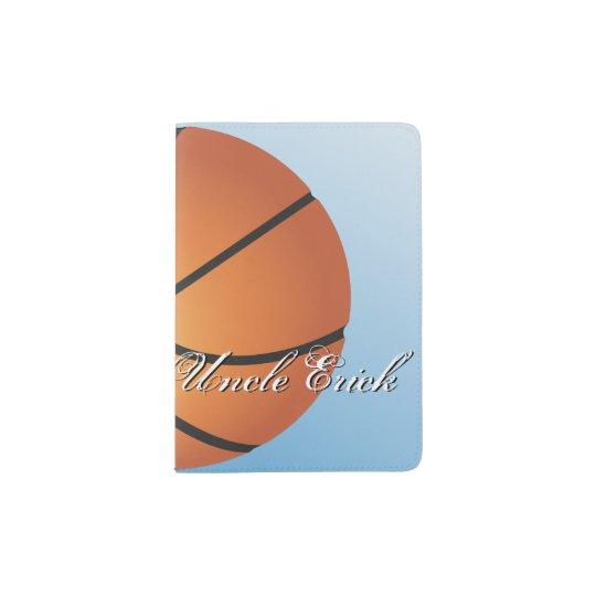 Create your Own Custom Monogram Basketball Passport Holder