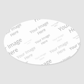 Create Your Own Custom Oval Matte Sticker
