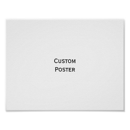 Create Your Own Custom Personalised Wall Poster