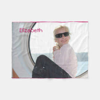 Create-Your-Own-Custom Photo | Fleece Blanket