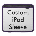 Create Your Own Custom Photo iPad Sleeve
