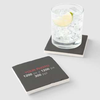 Create Your Own Custom Photo Stone Coaster