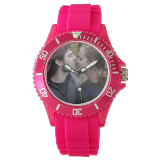 Create Your Own Custom Pink Sporty Watch