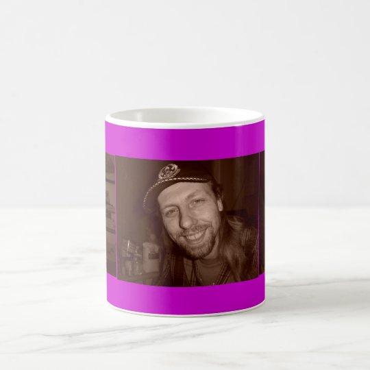 Create Your Own Custom Purple Template Photo Mug