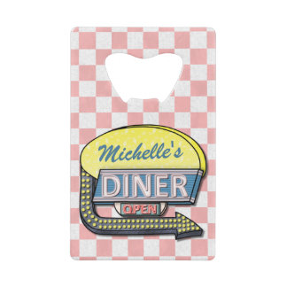 Create Your Own Custom Retro 50's Diner Sign
