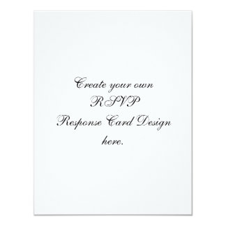 Create Your Own Custom RSVP Cards Recycled Paper 11 Cm X 14 Cm Invitation Card