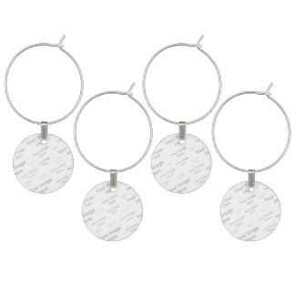 Create Your Own Custom Set of Four Wine Charms
