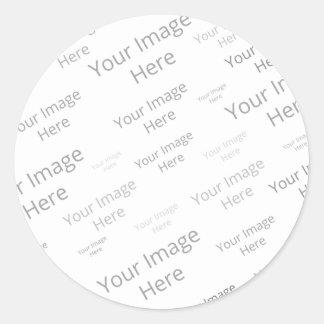 Create Your Own Custom Small Round Matte Sticker