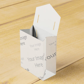 Create Your Own Custom Tent Favor Box