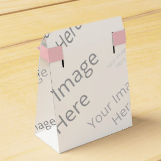 Create Your Own Custom Tent Favor Box Favour Box