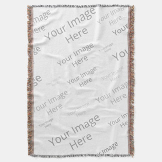 Create Your Own Custom Throw Blanket