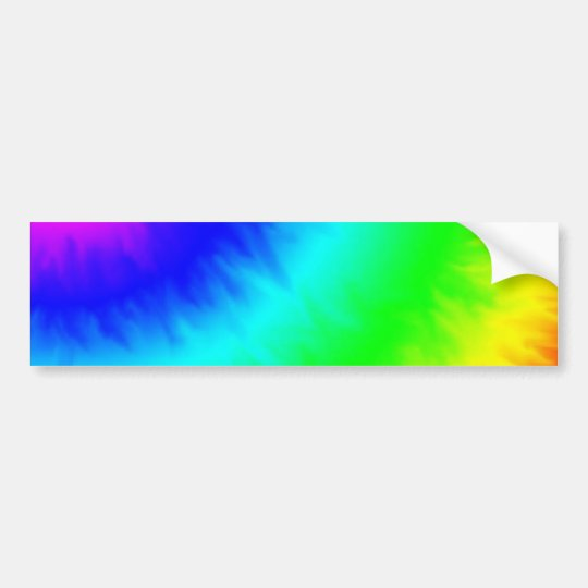 create your own custom tie dye template bumper