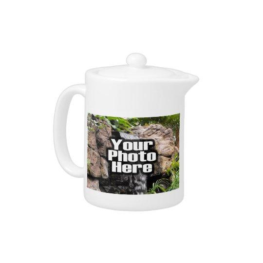 Create your Own Custom Two Photo Teapot