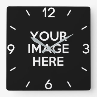 Create Your Own Custom Wallclock