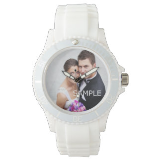 Create Your Own Custom Wedding Photo Wrist Watch